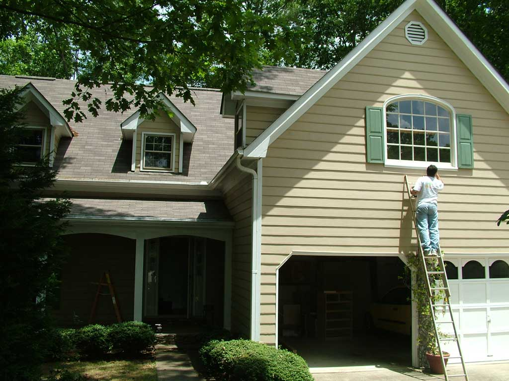 Exterior painting united building remodeling painting for Exterior painting